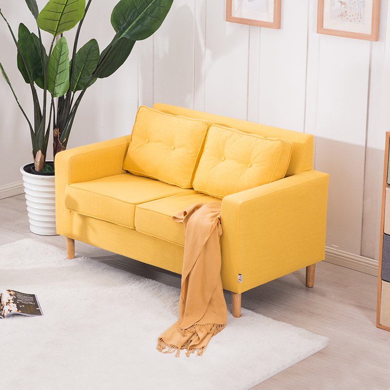 Awesome Sofa Small Apartment Two Person Double Sofa Bedroom Room Gamerscity Chair Design For Home Gamerscityorg