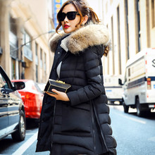 Pregnant Women Cloak thickend Collar Long Hooded Down Jacket