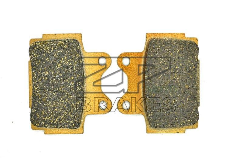 New Organic Brake Pads For Rear YAMAHA SRX 600 (1XM/1XL/E120/E125) 1988-1989, FZ 600 S, SC 1986- Motorcycle BRAKING 3 pairs motorcycle brake pads for yamaha srx 600 srx600 s sc 1986 black brake disc pad