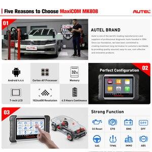 Image 2 - Autel Maxicom MK808 OBD2 Máy Quét Dụng Cụ Quét Chẩn Đoán Tất Cả Hệ Thống Chẩn Đoán Phục Vụ Chức Năng Mã MD802 + Maxicheck Pro