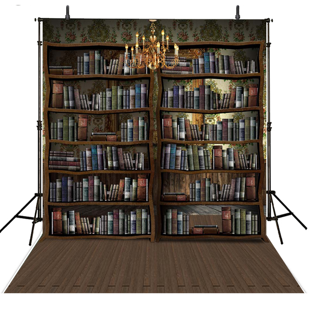 Vintage Books Photography Backdrops Library Vinyl Backdrop For Photography School Background For Photo Studio Foto Achtergrond allenjoy photography backdrops library bookshelf school student study room books photocall baby shower