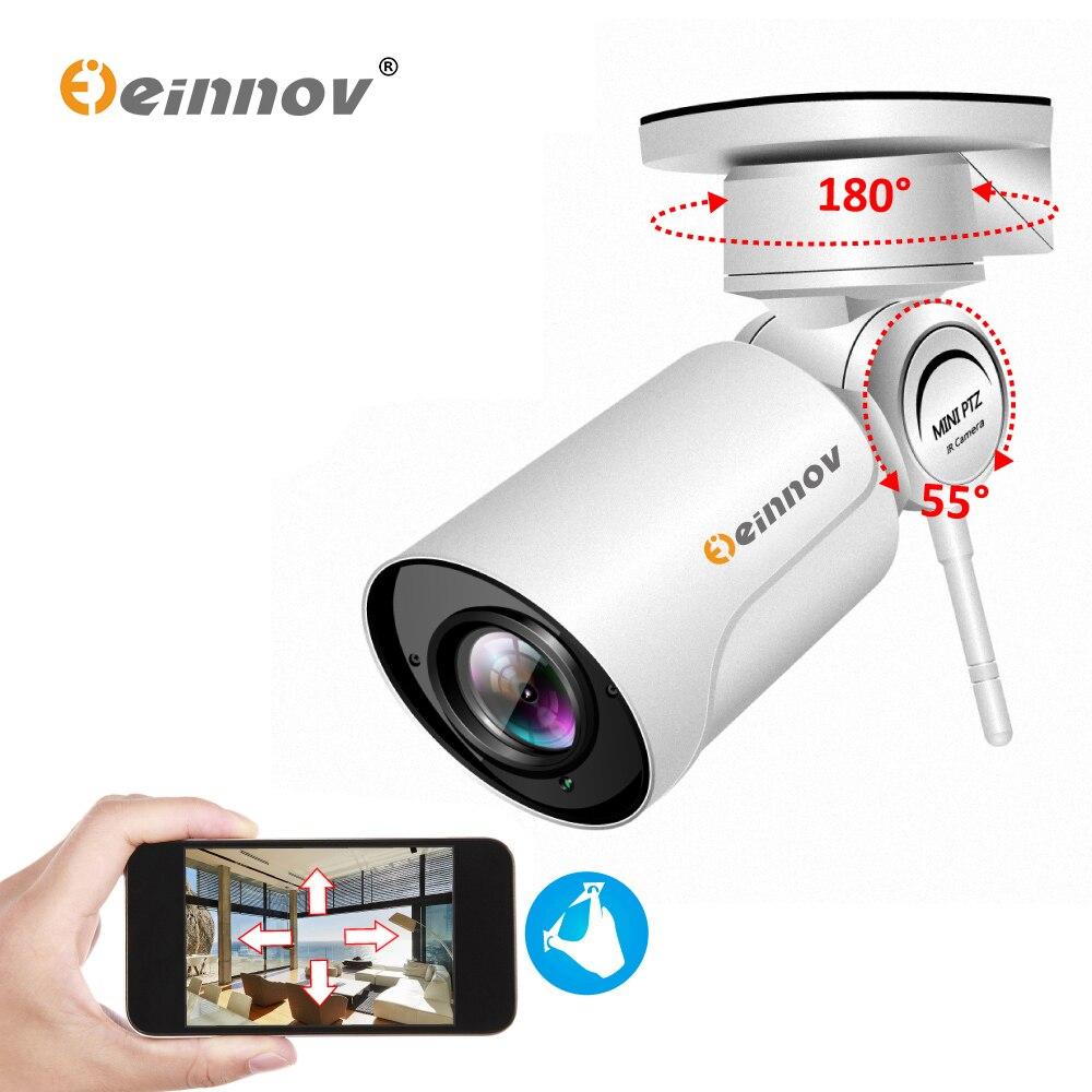 Einnov 1080P PTZ IP Camera Wifi HD 4XZoom Onvif Wi fi Mini Outdoor Security Camera Video