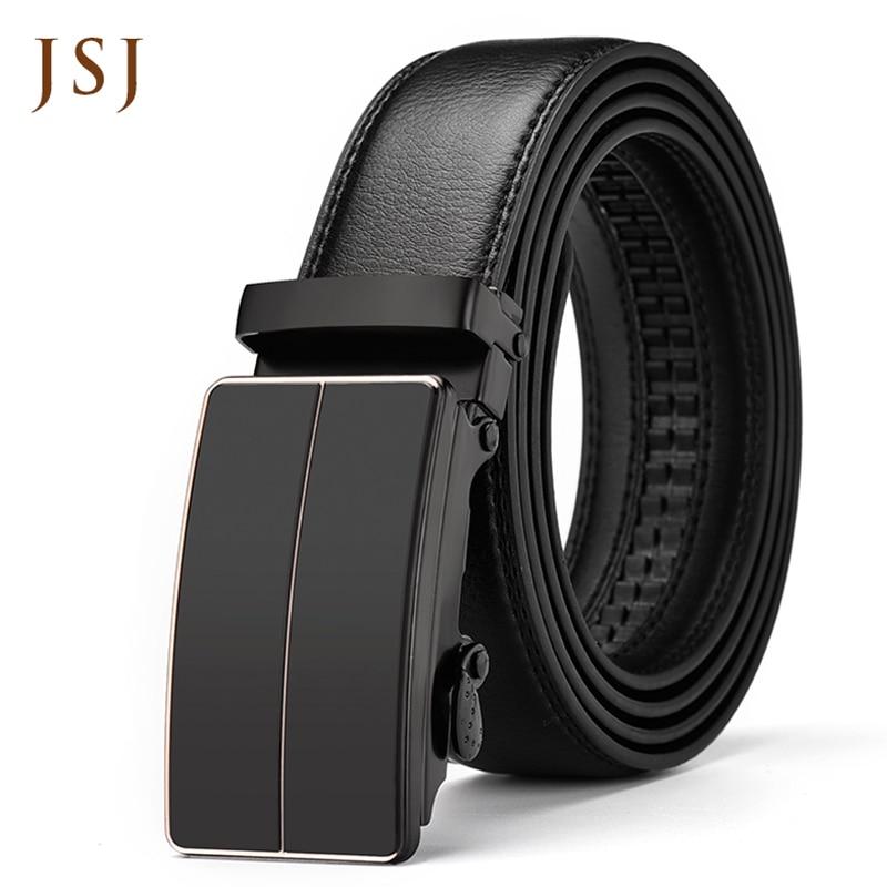 Famous Brand   Belt   Men Good Quality Cowskin Genuine Luxury Leather Men's   Belts   for Men Strap Male Metal Automatic Buckle   Belt