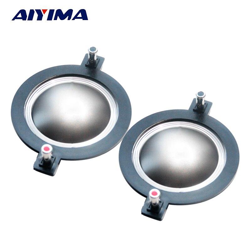 AIYIMA 2pcs 72.2 72.5 Mm Treble Voice Coil Speakers 72 Core Titanium Film Tweeter Ring Voice Diaphragm Speaker Accessories DIY