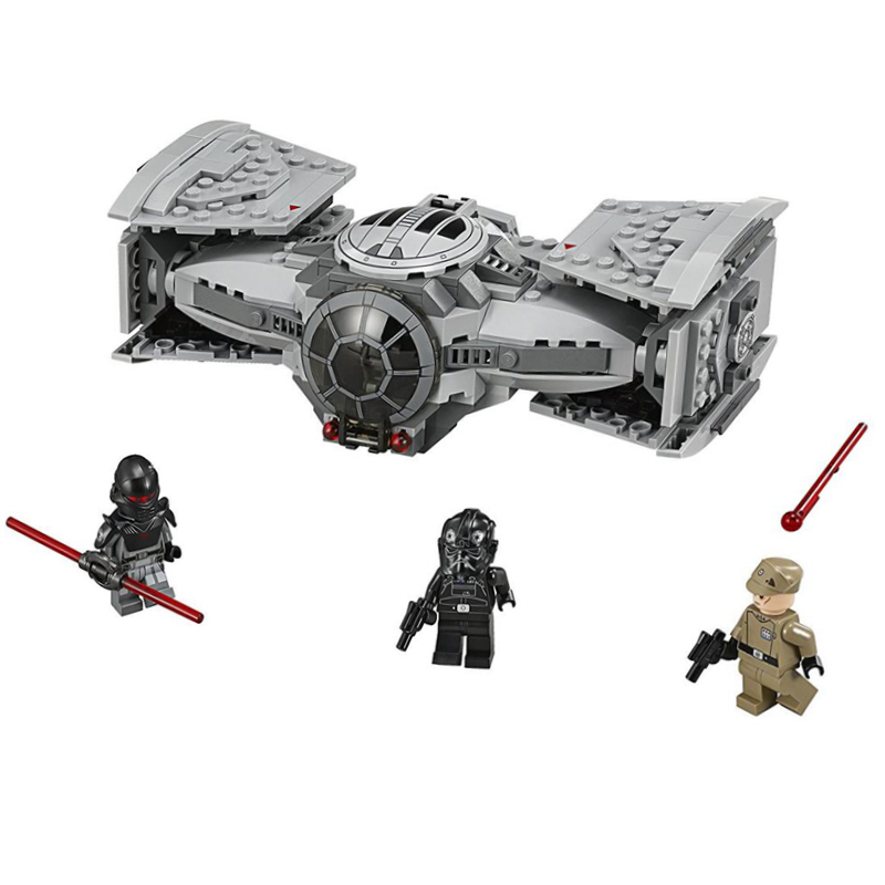 Star Space Wars TIE Advanced Prototype Toy Force Awakens Building Blocks Toys for Children Gifts Compatible with Legoings 75082 star wars 10373 force awakens tie advanced prototype building blocks toys for children gifts block compatible legoingly 75082