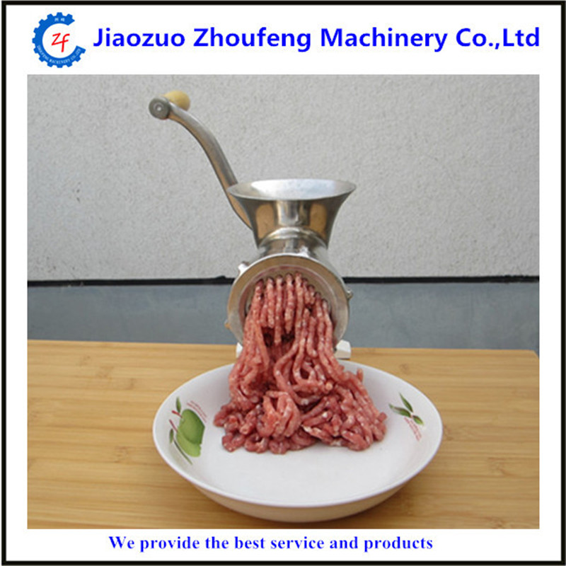 High quality 304 stainless steel manual home use mini meat grinder potato garlic noodle meat extruding machine 10#