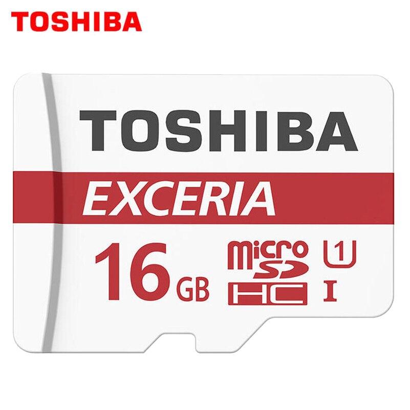 <font><b>TOSHIBA</b></font> 100% Memory Card Originale 64 GB 32 GB Max Velocità di Lettura 90 M/s 16 GB micro sd card Class10 UHS-flash card di Memoria Microsd