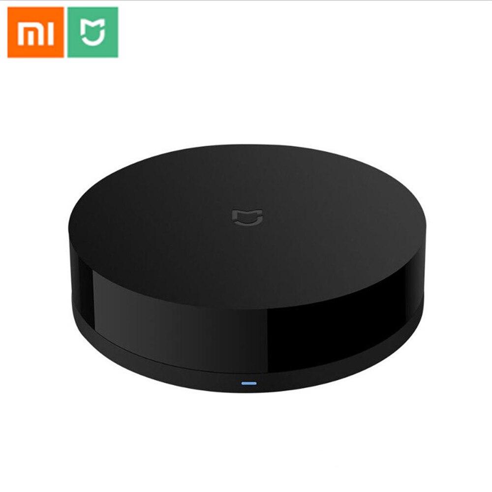 Original Xiaomi mi jia Universal inteligente control remoto WIFI + IR interruptor 360 grados de automatización a casa mi sensor inteligente