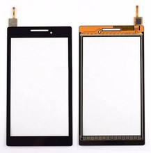 A7 - 10 A7 - 20 A7 - 20F For Lenovo Tab 2 Tablet Front Outter Touch Screen Panel Digitizer Glass Lens with Logo Repair Replaceme цены