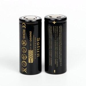 Image 3 - Sofirn 26650 バッテリー 5000 mah 3.7 ボルト充電式電池の高容量のリチウム電池 LED 懐中電灯リチウムイオン電池