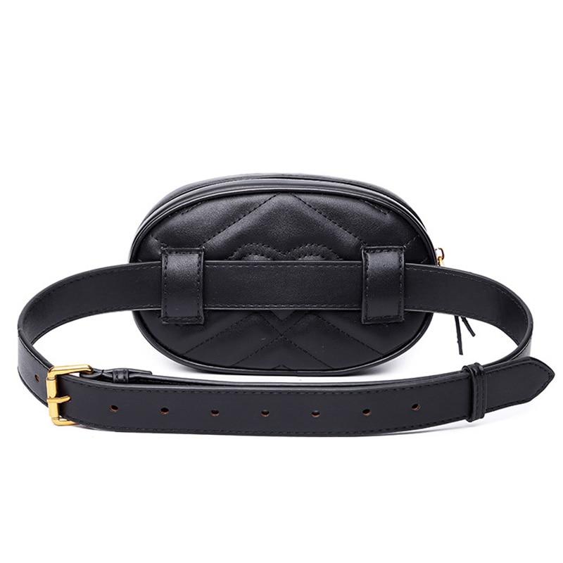 Mode sac ceinture sac de taille sac banane femmes marque de luxe en cuir sac de poitrine sac à main 2019 qualité supérieure sacs de banane pour femmes