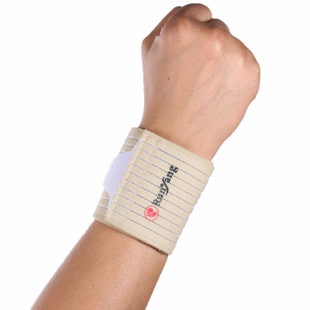 1PCS Adjustable Bandage Wrist Support Brace Brand Wristband Men Gym Wrestle Basketball Football Professional Sports Protection
