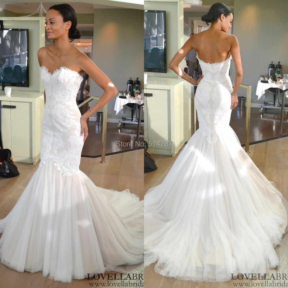 Mermaid Tail Wedding Dress Dresses Bling Picture More Detailed About 4072 By Flagyl2016