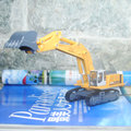 Brand New 1/87 Scale Car Toys KAIDIWEI Excavator/Excavating Machinery Diecast Metal Car Model Toy For Gift/Children