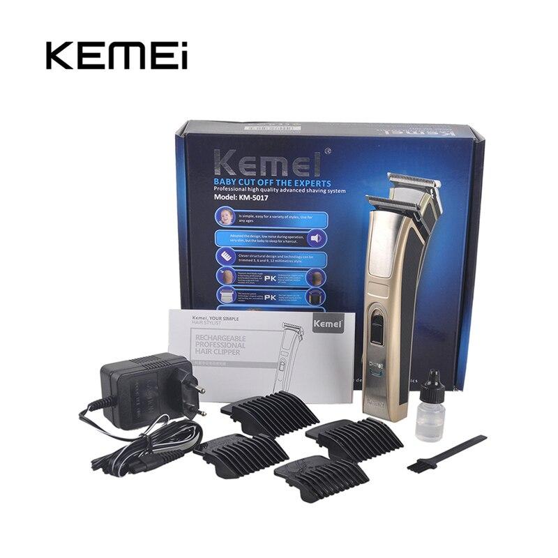 Kemei KM-5017 tondeuse à cheveux Rechargeable électrique tondeuse à cheveux étanche haute puissance pour hommes bébé enfants tondeuse à cheveux rasoir