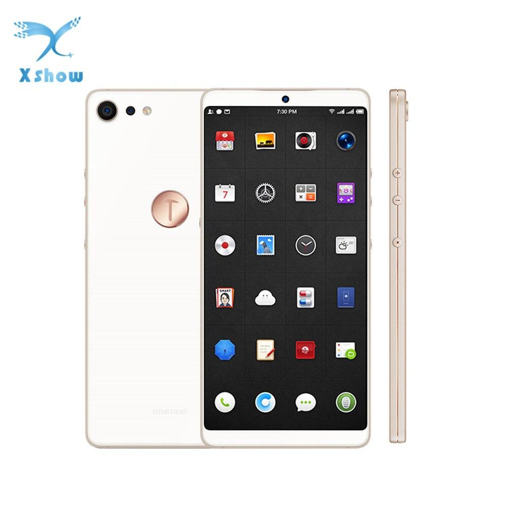 100% Original Smartisan U3 Pro JianGuo Nut Pro 2 16MP Snapdragon 660 Quick Charge Fingerprint 6GB RAM 64GB ROM Freeshipping