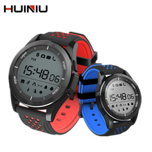 HUINIU F3 Bluetooth Smart Watches for Men Women Waterproof Pedometer Wearable Devices Fitness Tracker Smartwatch for Android IOS