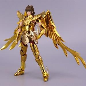 Image 4 - ST S Tempel (MC Metalen Club) Saint Seiya Doek Mythe EX Gold Boogschutter Aiolos model metalen doek