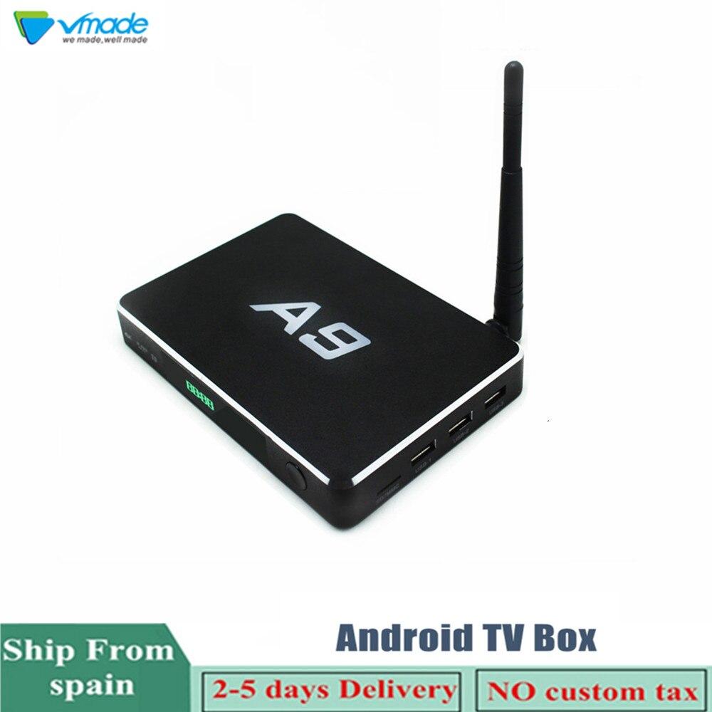 Vmade Smart Mini TV BOX Ultra HD 4 K 2 + 8 GB Android 6.0 Amlogic S905X film WIFI Google Netflix Red Bull lecteur multimédia décodeur
