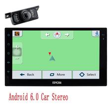 Audio 2 Din touch screen Car NO DVD video radio Receiver GPS Navigation Autoradio 1080P Video Player Wifi+Rear Camera Included