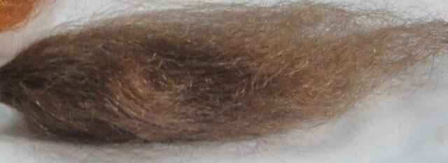 Poupée perruque Blonde/brune Mohair poupée cheveux pour Reborn poupée Kits bricolage Reborn poupées accessoires
