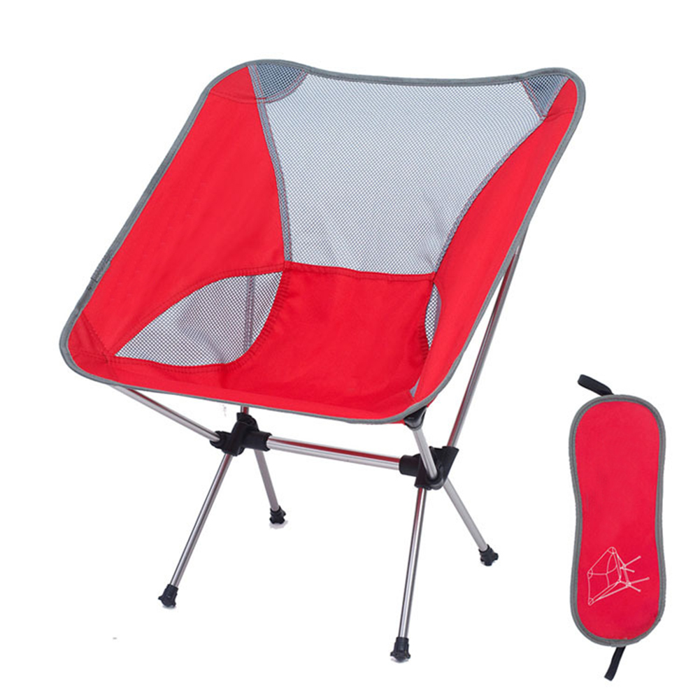 Furniture Ultralight Folding Camping Chair Portable Beach Fishing Chair Outdoor Travel Picnic Festival Hiking Backpacking Lightweight