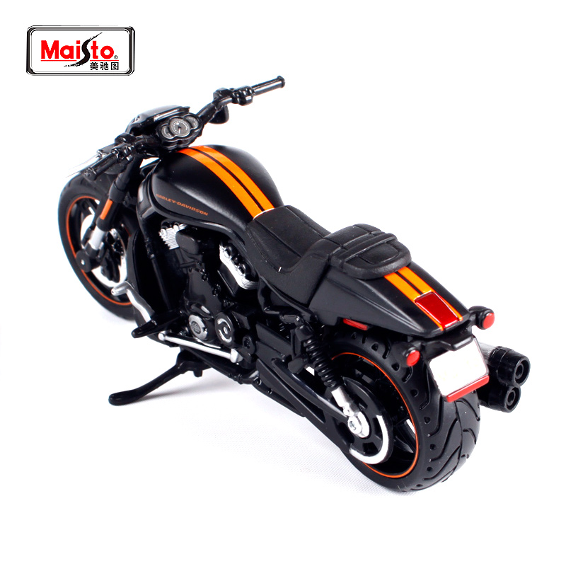Maisto 1:18 2012 Harley VRSCDX Natt Rod Black MOTORCYCLE BIKE Model GRATIS SHIPPING 12015