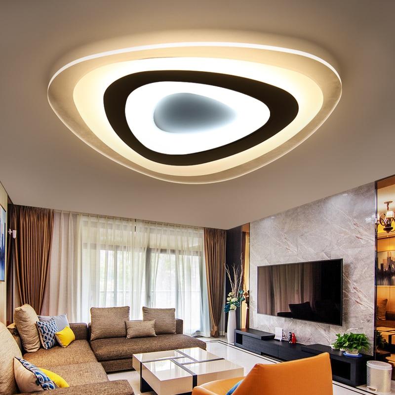 Ultra thin modern chandelier led Chandelier living room bed room light fixtures acrylic Chandelier lighting lamparas