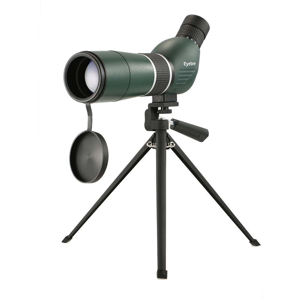 20-60x60 Spotting ScopeTelescope Portable Travel Scope Monocular Telescope with Tripod Carry Case Birdwatch Hunting Monocular