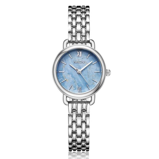 Minimalist Ladies Women Bracelet Watch Silver Rose Gold Quartz Watches Casual Wo