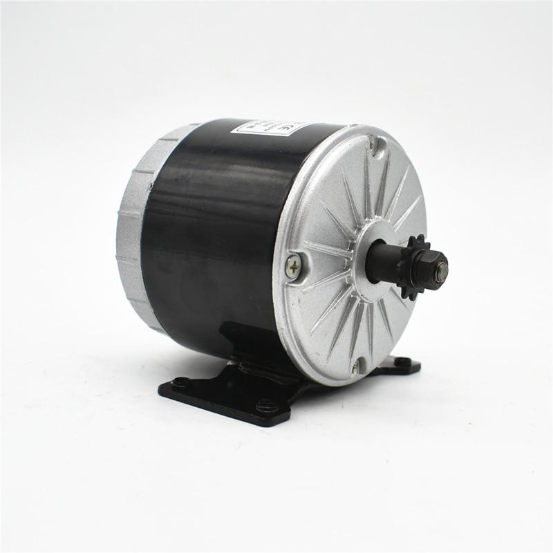 MY1016 24 V 36 V 350 W Bürste Hochgeschwindigkeits-Gleichstrommotor - Radfahren - Foto 2
