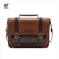 Ecosusi старинные портфель женские crossbody сумки женщины tote сумки классический женщины shouder сумки bolsa feminina