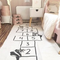 Esteira do jogo do bebê macio rastejando tapetes pista carro padrão quebra cabeças aprendizagem brinquedo estilo nórdico crianças decoração do quarto tapete|Tapete| |  -