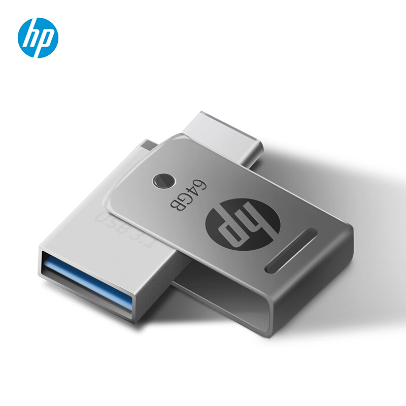HP USB tipo c Flash Drive 16GB 32GB 64GB Pen Drive Smart Phone Type C OTG Memory Mini U Stick 3.1 DJ Custom DIY LOGO Disk on Key (6)