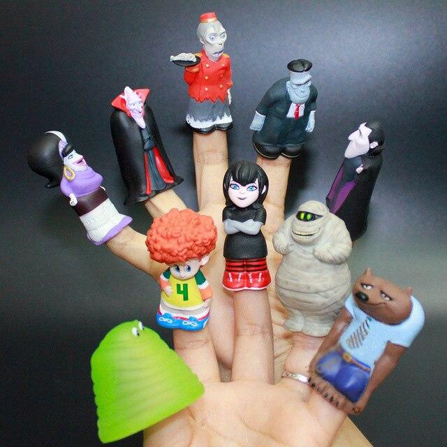 10pcs Set Hotel Transylvania 3 Action Figure Model Toy Brinquedos Figurals Murray Dracula Frank Dennis