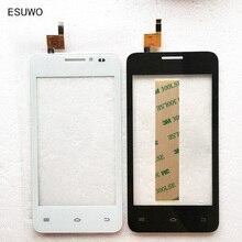 """ESUWO 4.0 """"Pantalla táctil Para Fly FS403 Cumulus 1 FS 403 Pantalla Táctil Frontal de Cristal Digitalizador Del Sensor Del Panel De Vidrio de Color Negro"""