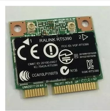 SSEA NOUVEAU pour Ralink RT5390 demi MINI PCI-E 150 Mbps Wlan Wifi Sans Fil carte pour HP 450 455 650 655 SPS 670691-001