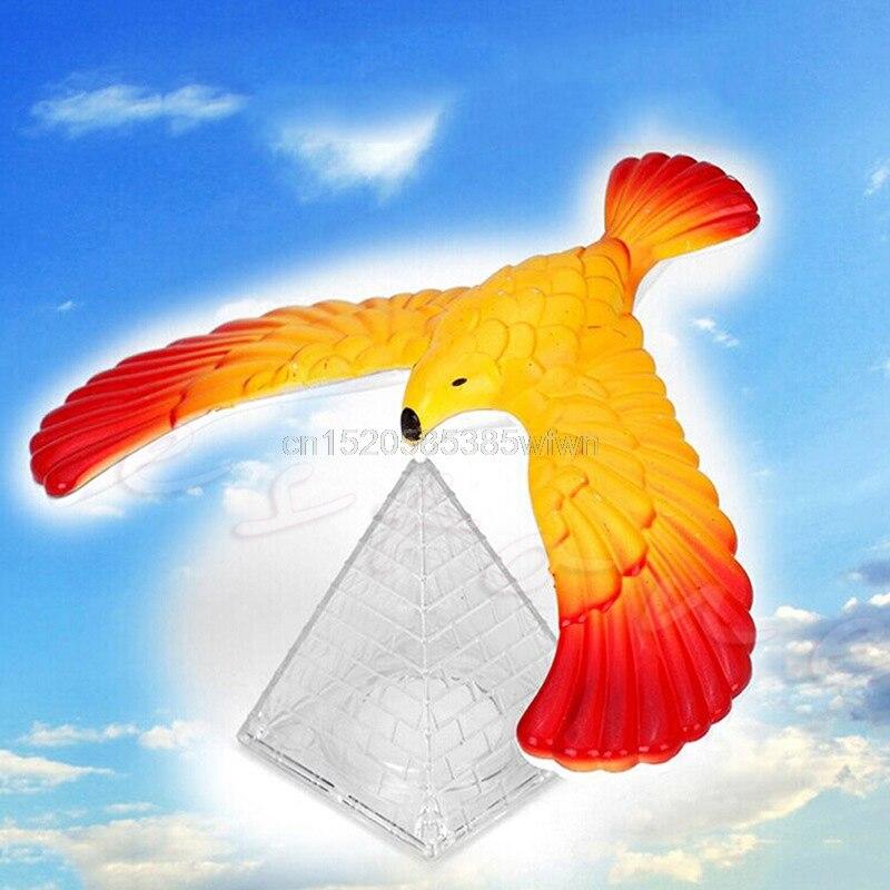 Magic Balancing Bird Science Desk Toy W/ Base Novelty Eagle Fun Learn Gag Gift #HC6U# Drop Shipping