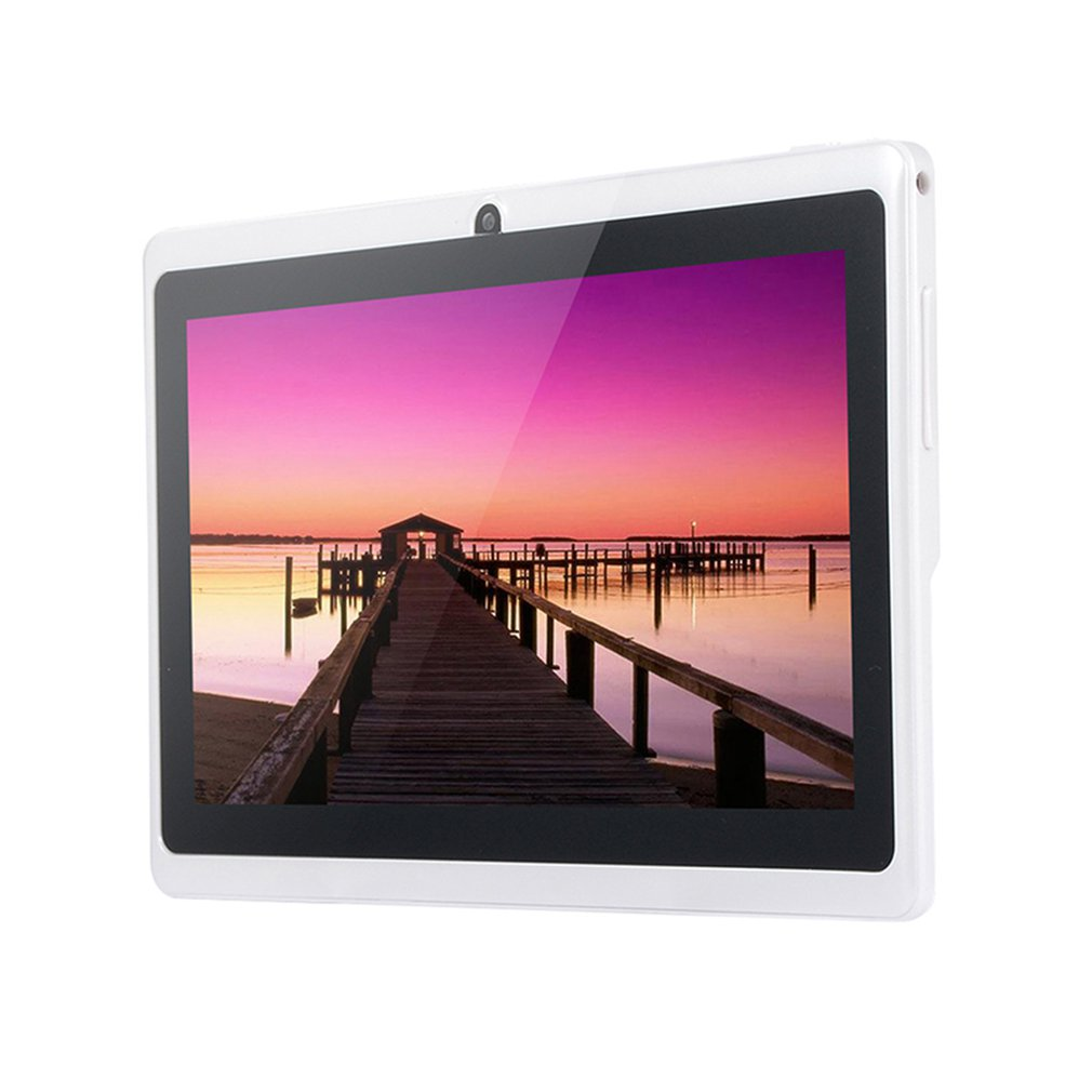 7 inch Android 4.4 Tablet PC Q88 Allwinner A33 Quad Core WiFi Tablet PC 1024*600 G sensor Portable Tablet