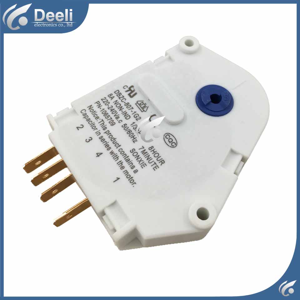 1pcs for new for Refrigerator defrost timer DBZC-807-1G2 Defrosting timer defrost timer tmdex09um1