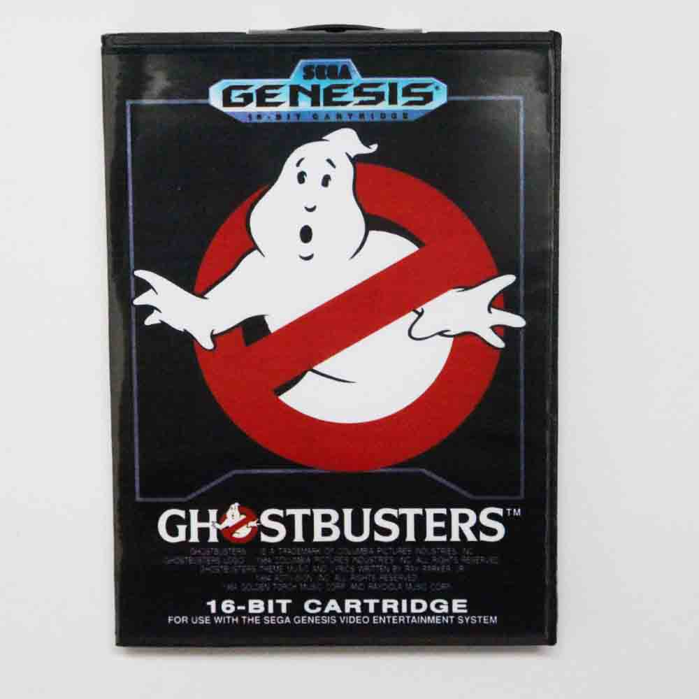 Ghostbusters Game Cartridge 16 bit MD Game Card With Retail Box For Sega Mega Drive For Genesis