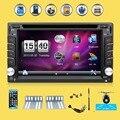 6.2 inch 2din car dvd player gps в тире Радио Bluetooth RDS USB FM AM Автомагнитолы Для Универсальный Автомобиль Бесплатно камера