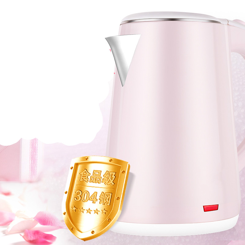 Electric kettle stainless steel kettles automatic power blackouts household thermoelectric Safety Auto-Off Function cukyi stainless steel 1800w electric kettle household 2l safety auto off function quick heating red gold