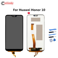 For Huawei Honor 10 5.84 COL AL00 AL10 L29 TL00 TL10 LCD Display+Touch Screen Repairment Digitizer Assembly For Huawei Honor10