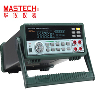 MS8050 Цифровой мультиметр профессиональный настольный Авто Диапазон скамейка мультиметр Высокая точность Правда RMS RS232C