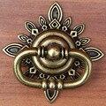 Estilo Vintage anéis gota handes porta dresser gaveta puxa puxadores bronze bronze antigo anéis instável puxadores para móveis