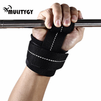 Mulitigy 1pair Wrist Support Adjustable Wrist Brace Weight Lifting Fitness Carpal Tunnel Sport Bodybuilding Wrist Wraps