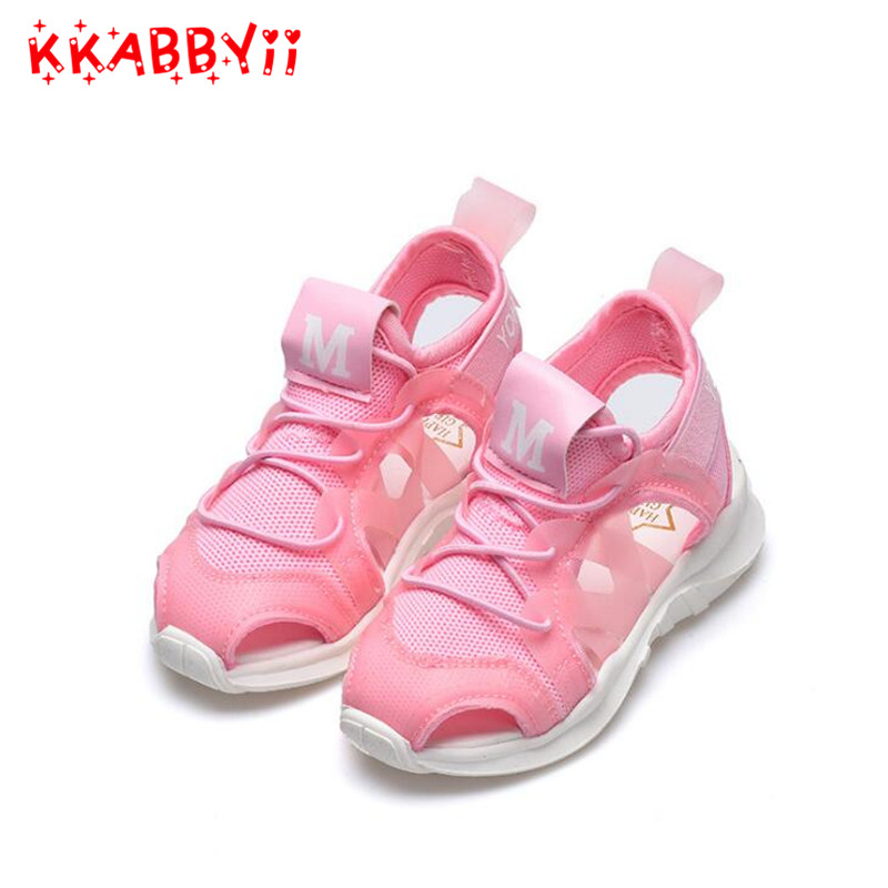 Kids New Arrivals Outdoor Beach Child Boys Sandals Shoes Flat With Fashion Cloth Soft Bottom Boys Sandals For Girl