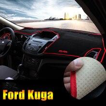 Приборной панели автомобиля Избегайте свет Pad инструмент крышка платформы стол коврики ковры LHD для Ford Kuga Побег 2013 2014 2015 2016 2017 2018
