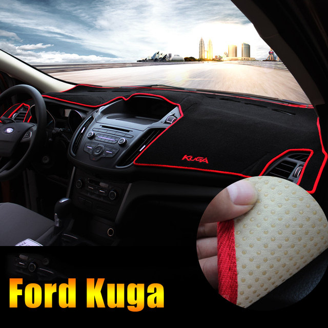 US $19 5 35% OFF|Car Dashboard Avoid light Pad Instrument Platform Desk  Cover Mats Carpets LHD For Ford Kuga Escape 2013 2014 2015 2016 2017  2018-in